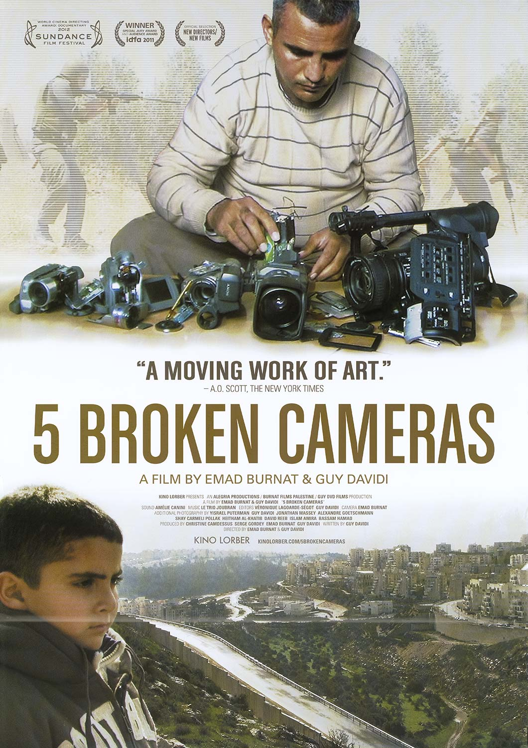 5 Broken Camera's Movie Poster