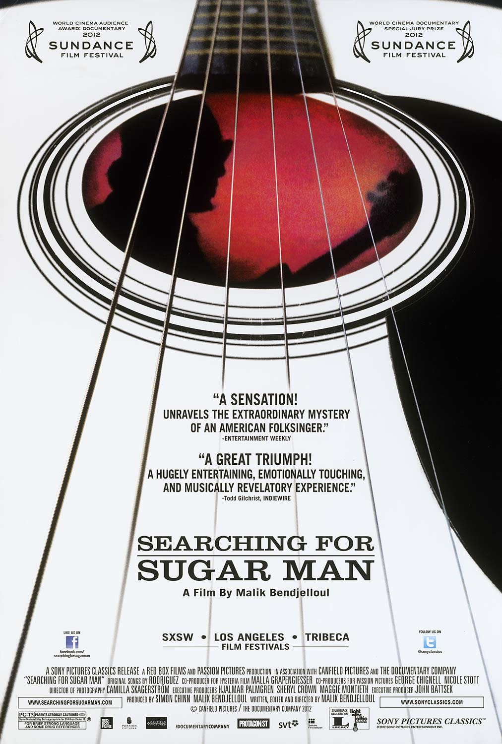 Winner: Searching for Sugar Man