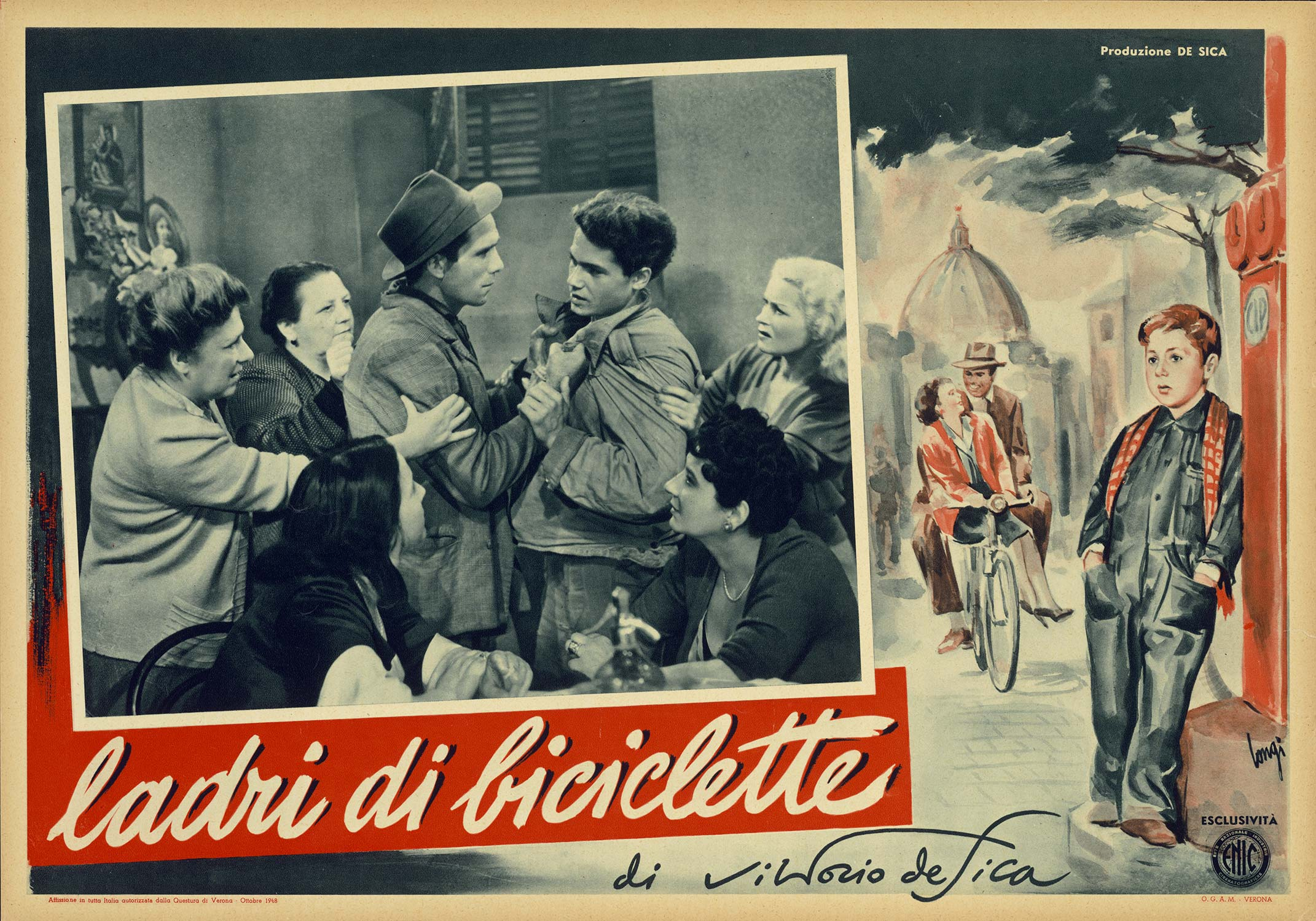 The Bicycle Thief - Movie Poster