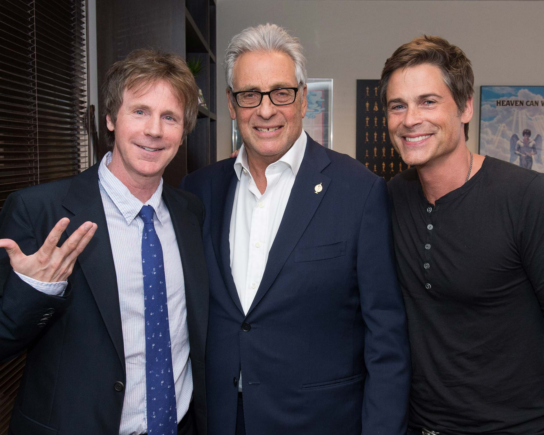 Dana Carvey and Rob Lowe
