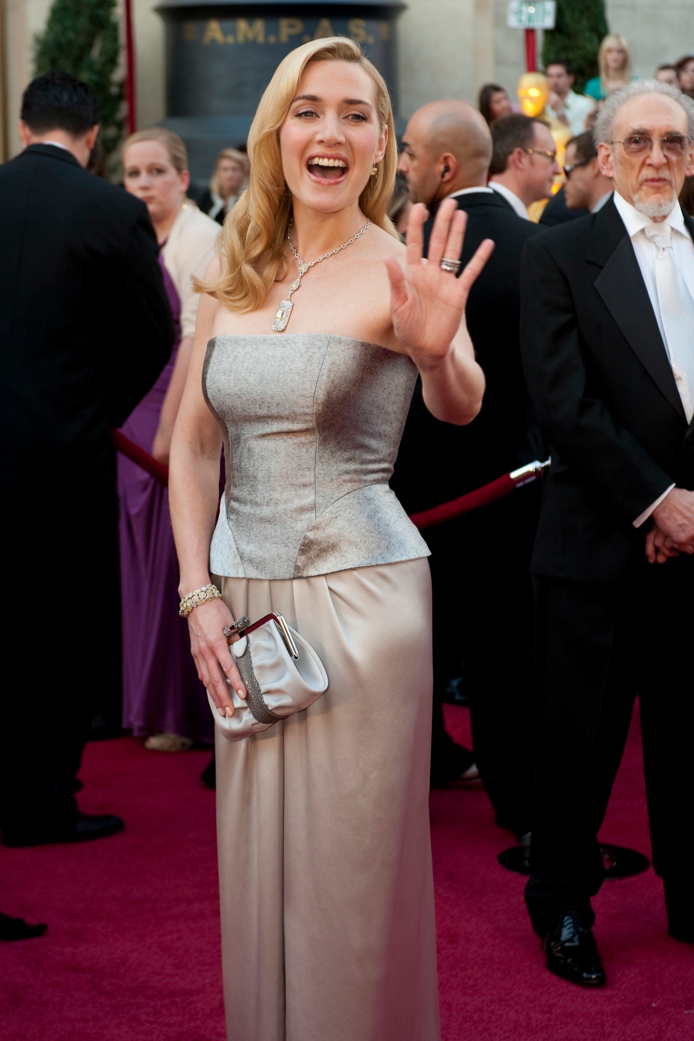 Academy Award presenter Kate Winslet arrives.