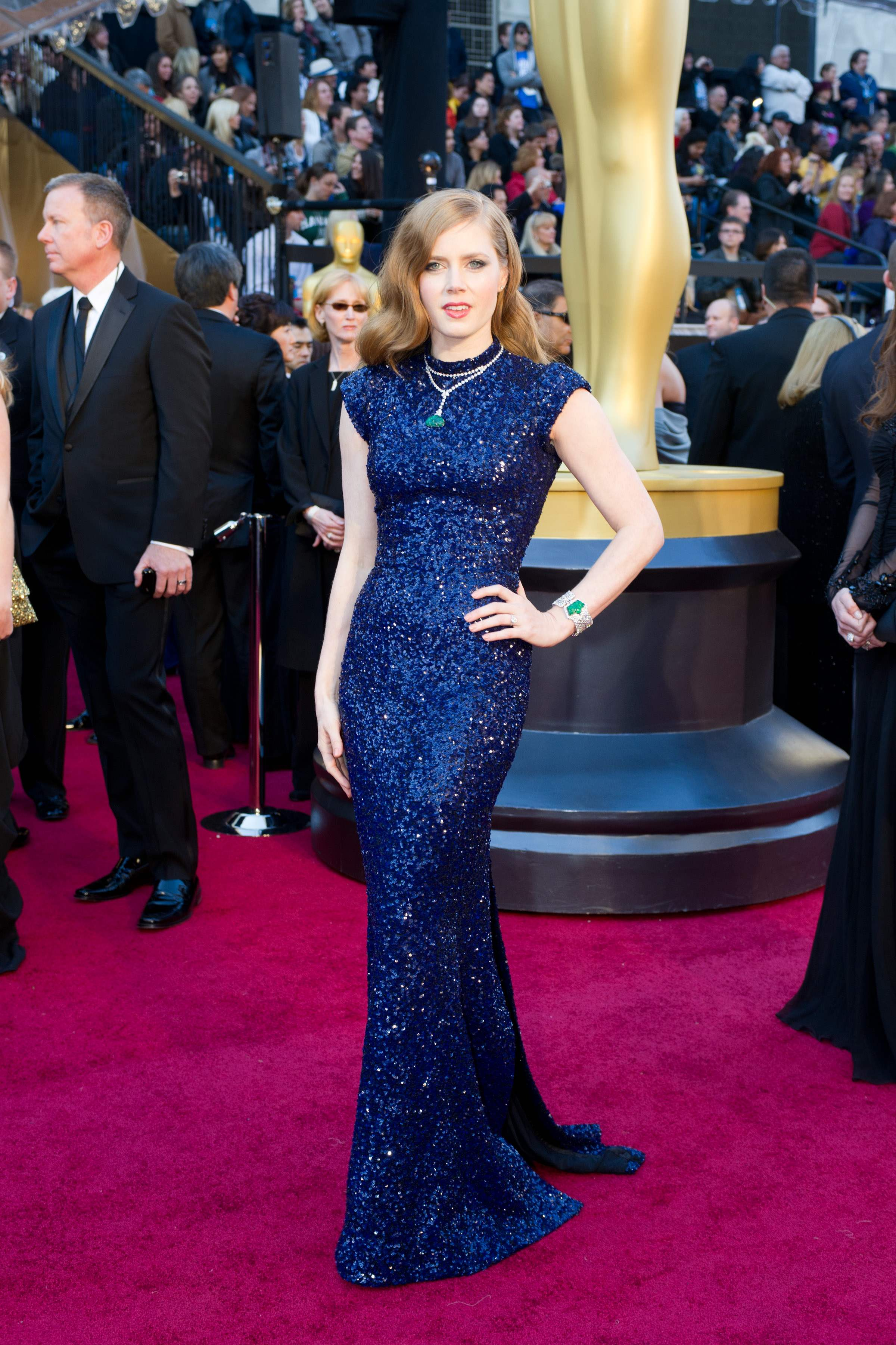 Amy Adams, Oscar®-nominee for Performance by an Actress in a Supporting Role, arrives.