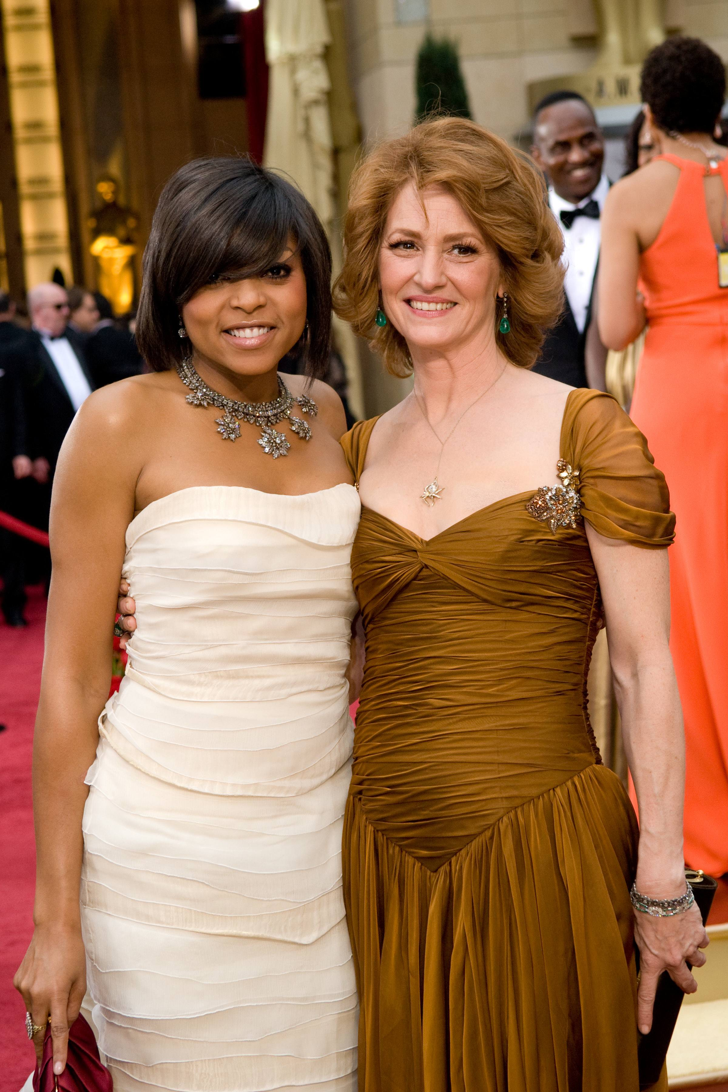"Taraji P. Henson nominated for Actress in a Supporting Role for her role in ""The Curious Case of Benjamin Button"" and Melissa Leo, nominated for Actress in a Leading Role for her role in ""Frozen River."""
