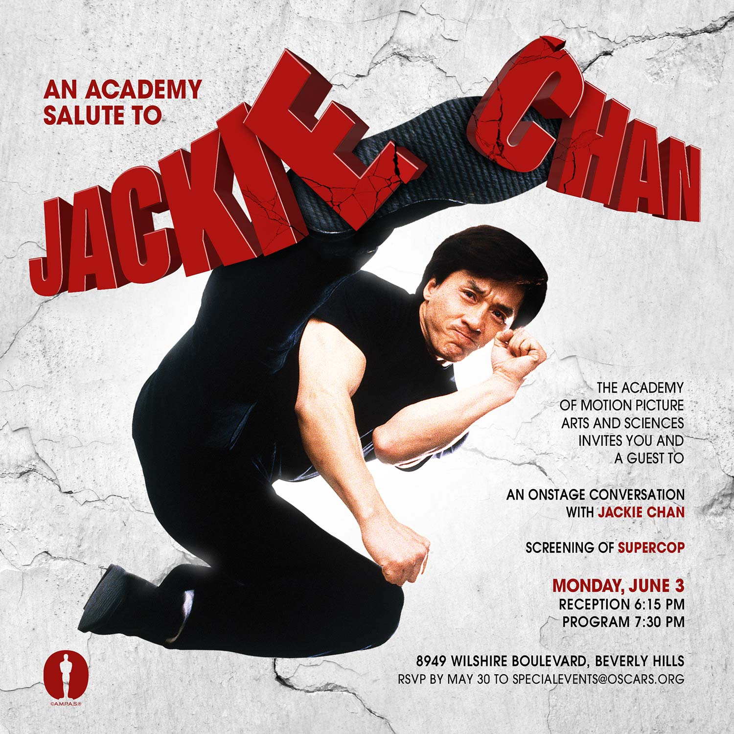 An Academy Salute to Jackie Chan Main Poster