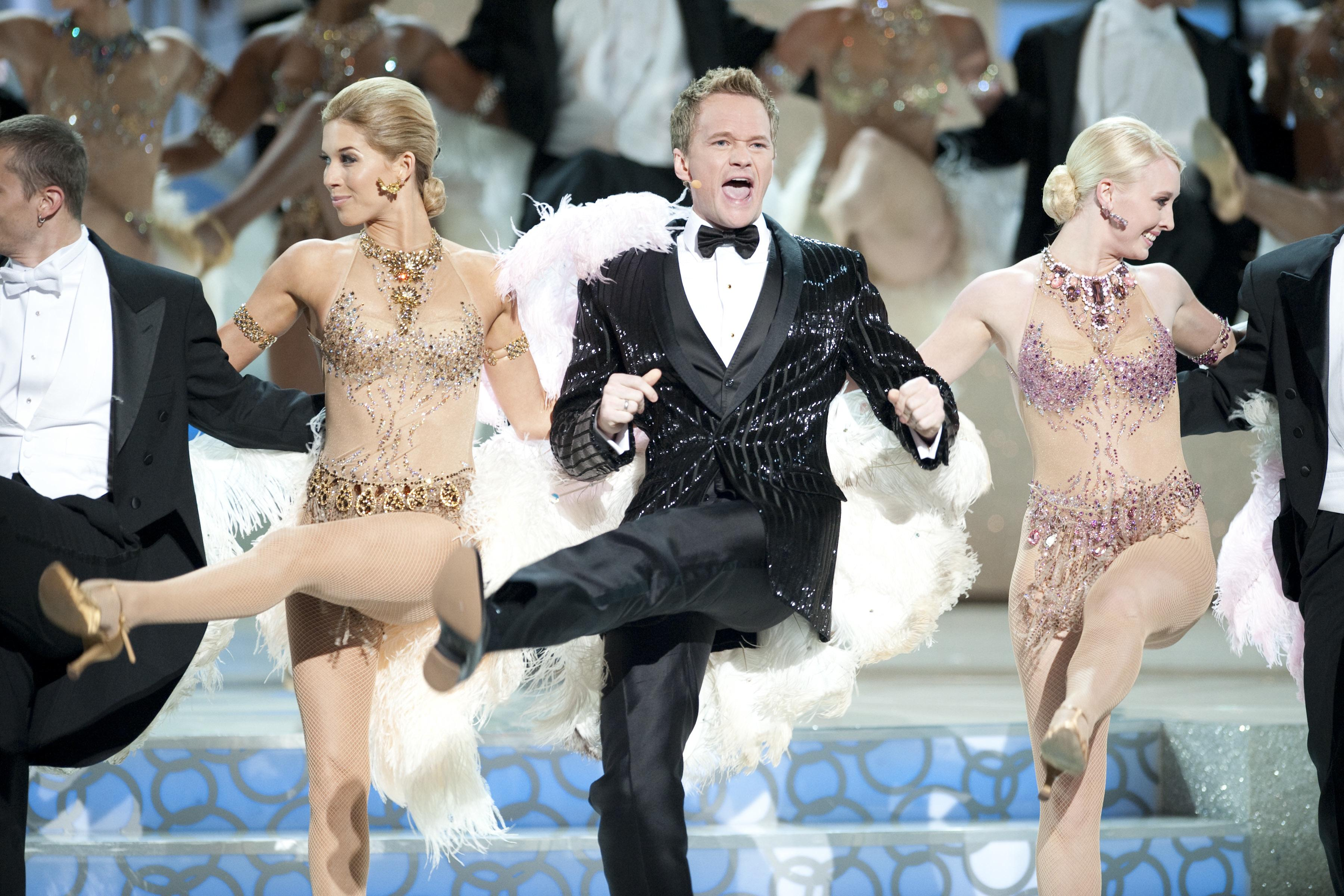 Neil Patrick Harris performs the opening number.