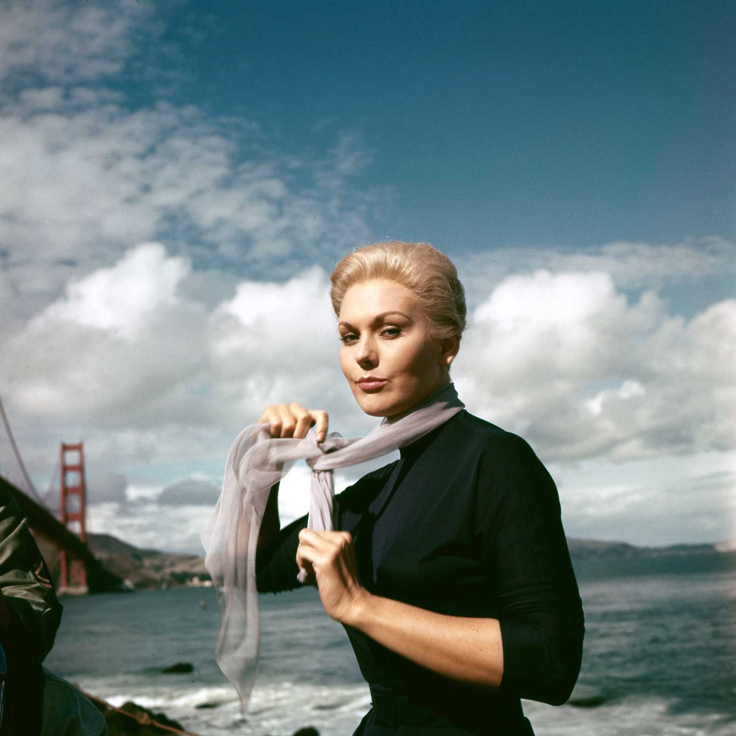 "Seen on location in San Francisco, Kim Novak delivered not one but two haunting characters in ""Vertigo."""