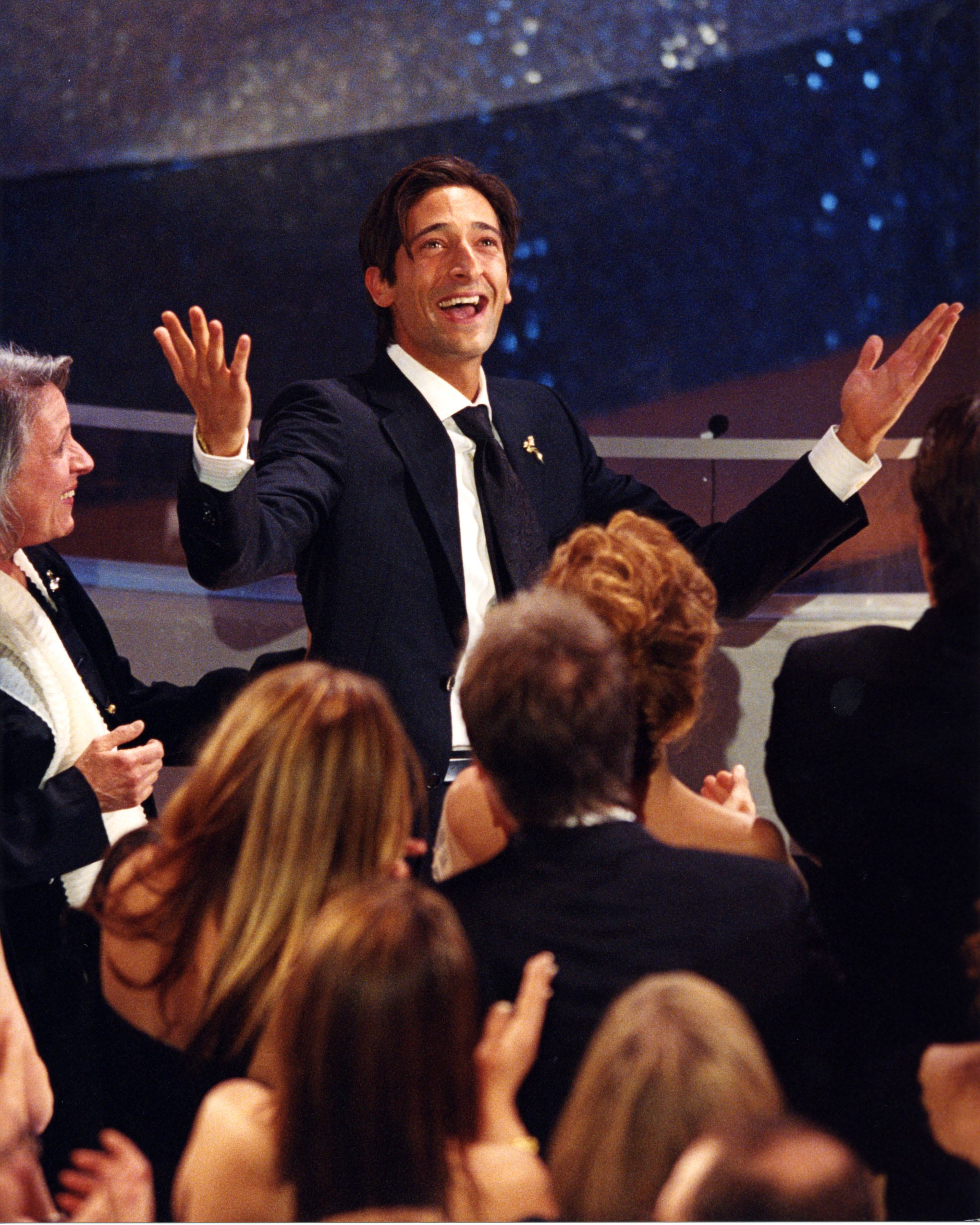 "Adrien Brody, Actor in a Leading Role, ""The Pianist."""