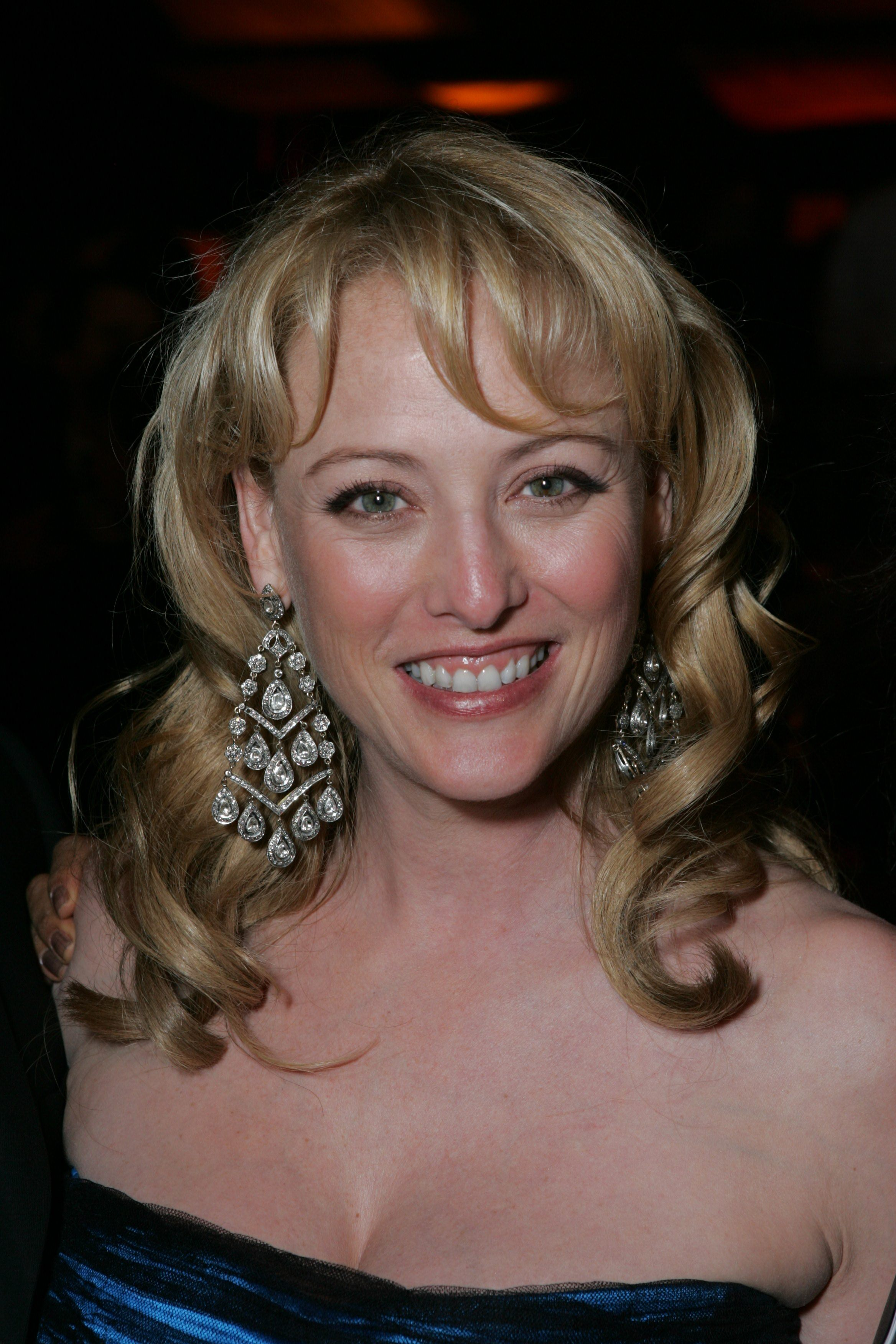 """Best Actress nominee for """"Sideways"""" Virginia Madsen at the Governors Ball."""