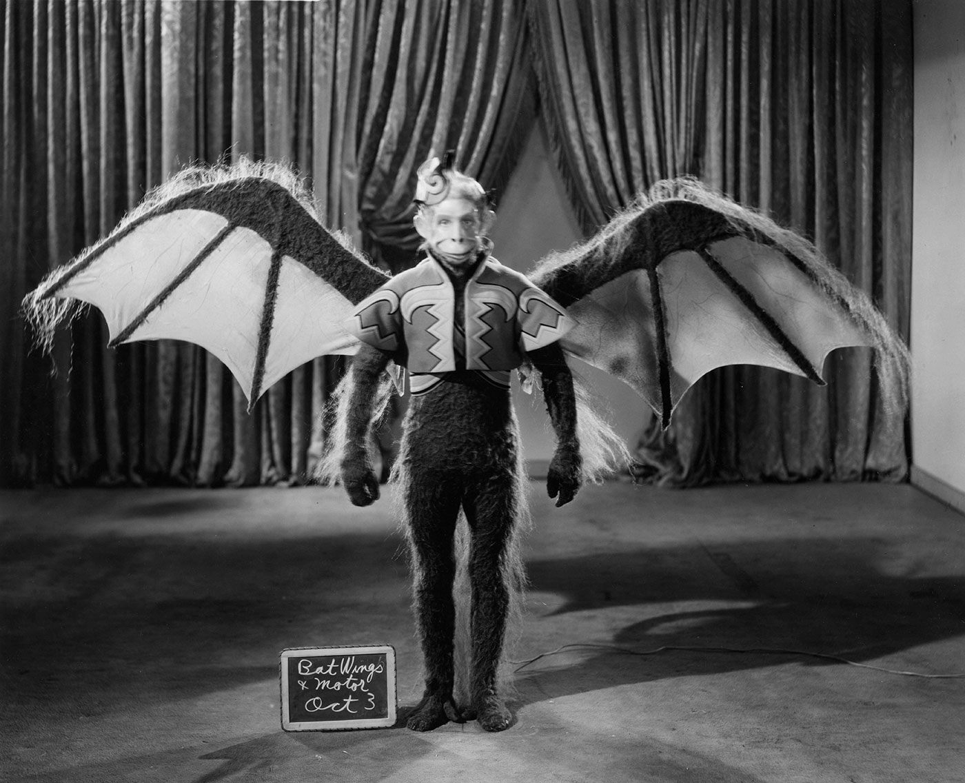 Flying Monkeys - Makeup & Costume test shots