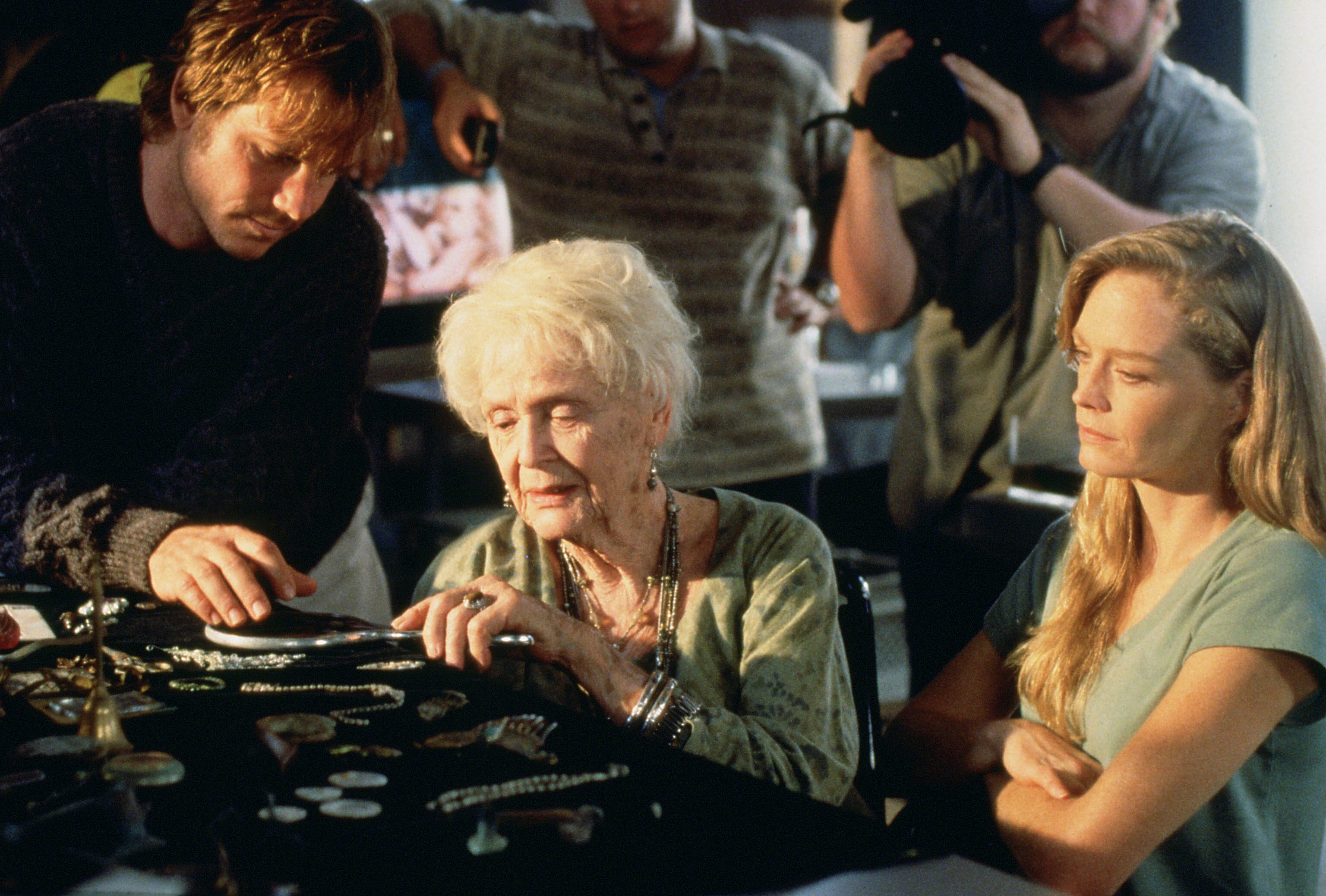 Bill Paxton, Gloria Stuart and Suzy Amis