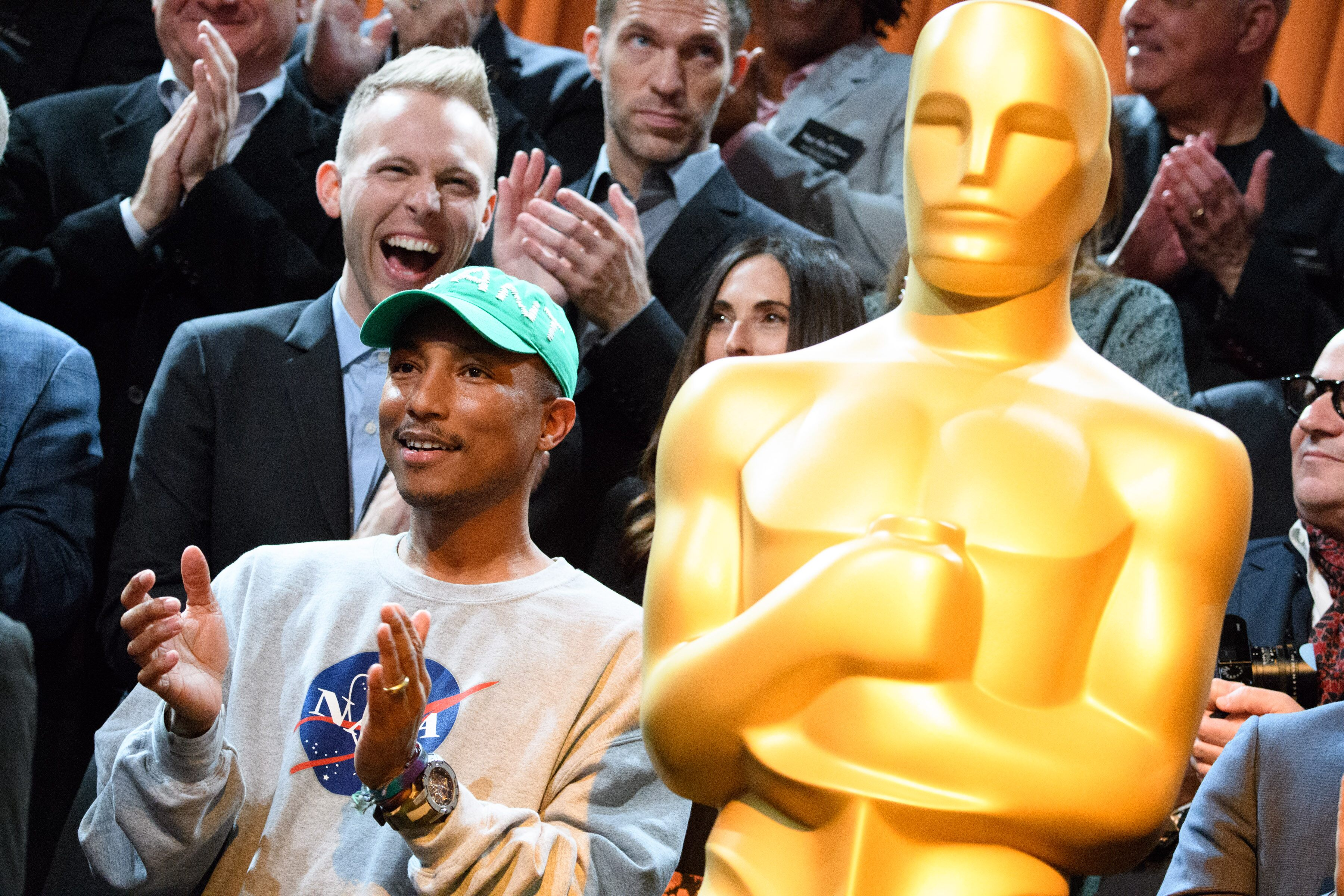 Oscar nominee Pharrell Williams