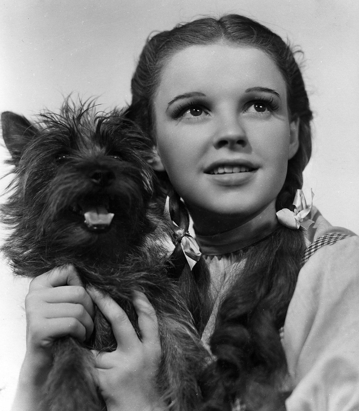 Judy Garland's and her canine costar - Terry