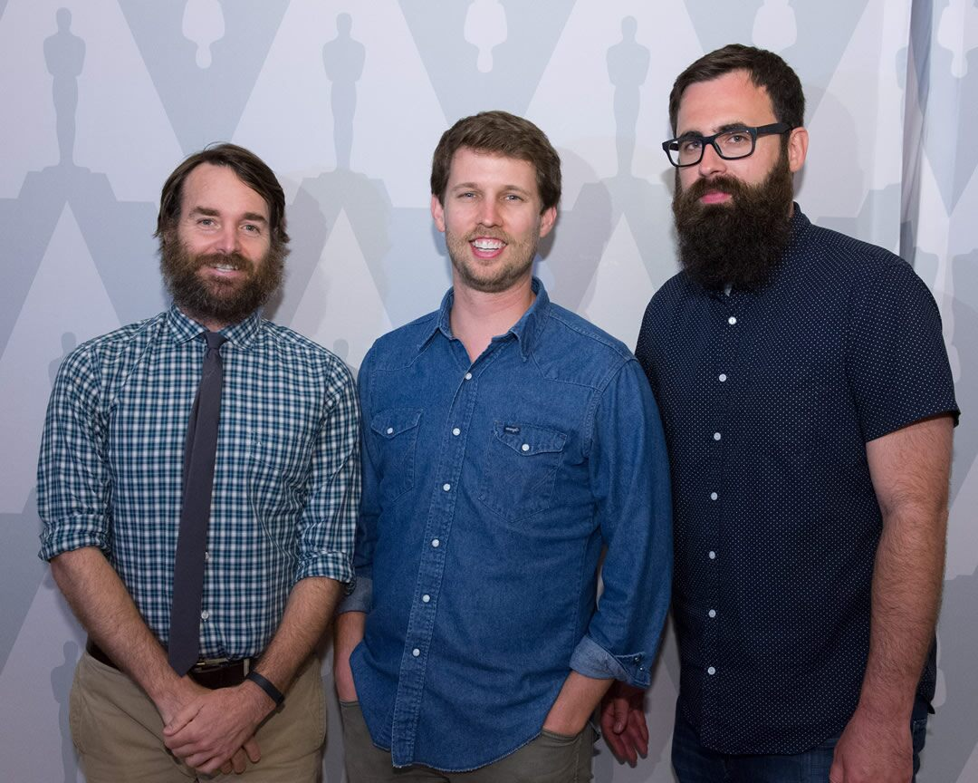 Will Forte, Jon Heder and Jared Hess