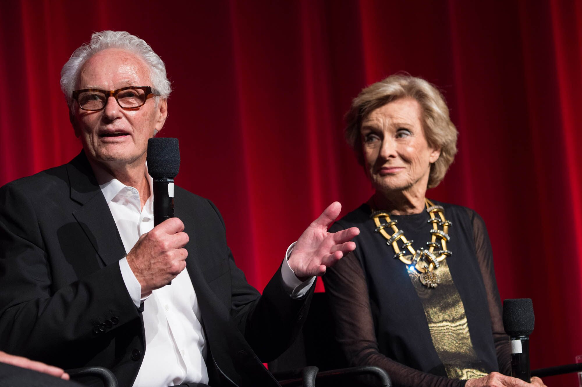 """At the 40th anniversary screening of """"Young Frankenstein."""""""