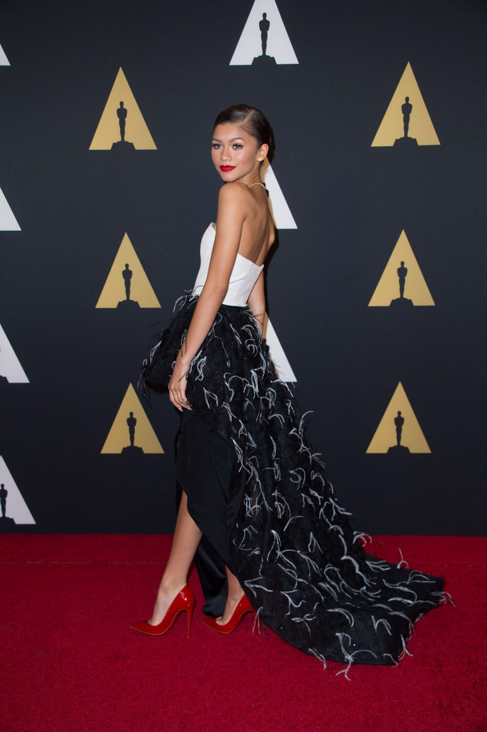 Zendaya at the 6th Annual Governors Awards