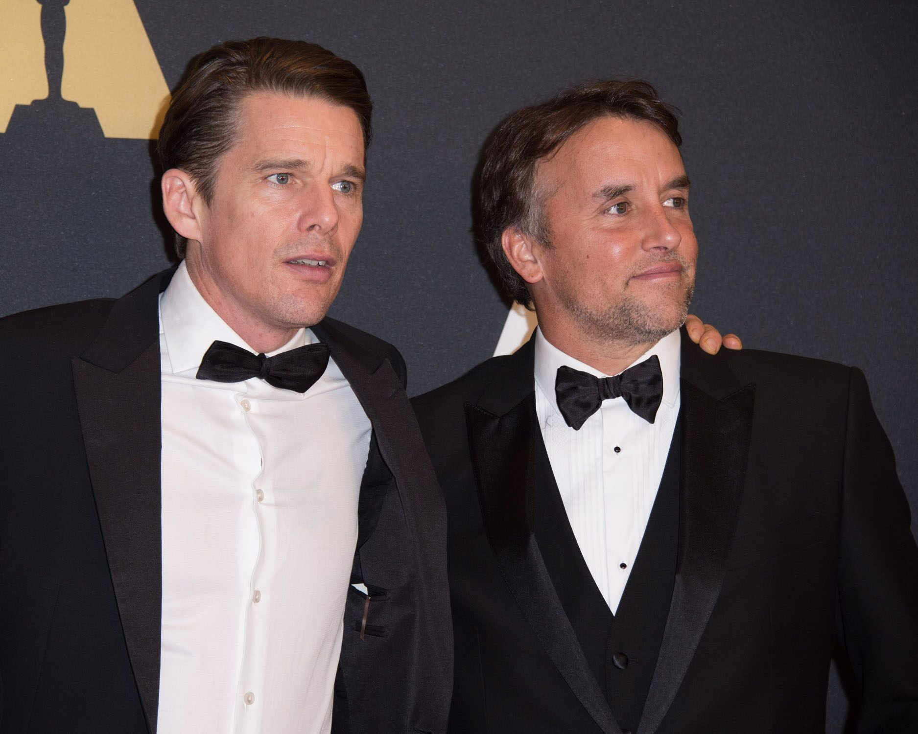 Ethan Hawke (left) and Richard Linklater at the 6th Annual Governors Awards