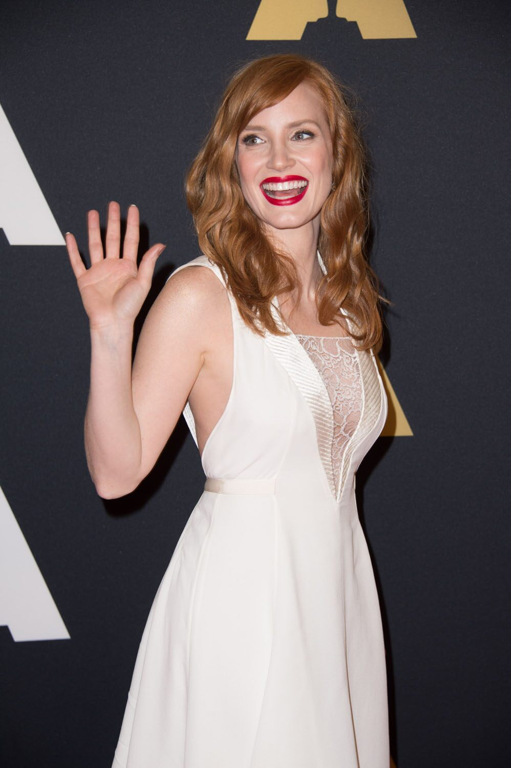Jessica Chastain at the 6th Annual Governors Awards