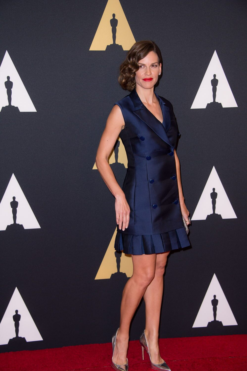 Hillary Swank at the 6th Annual Governors Awards