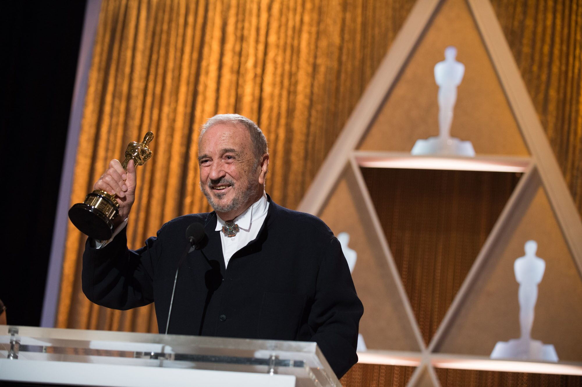 Honorary Award to recipient Jean-Claude Carrière during the 2014 Governors Awards