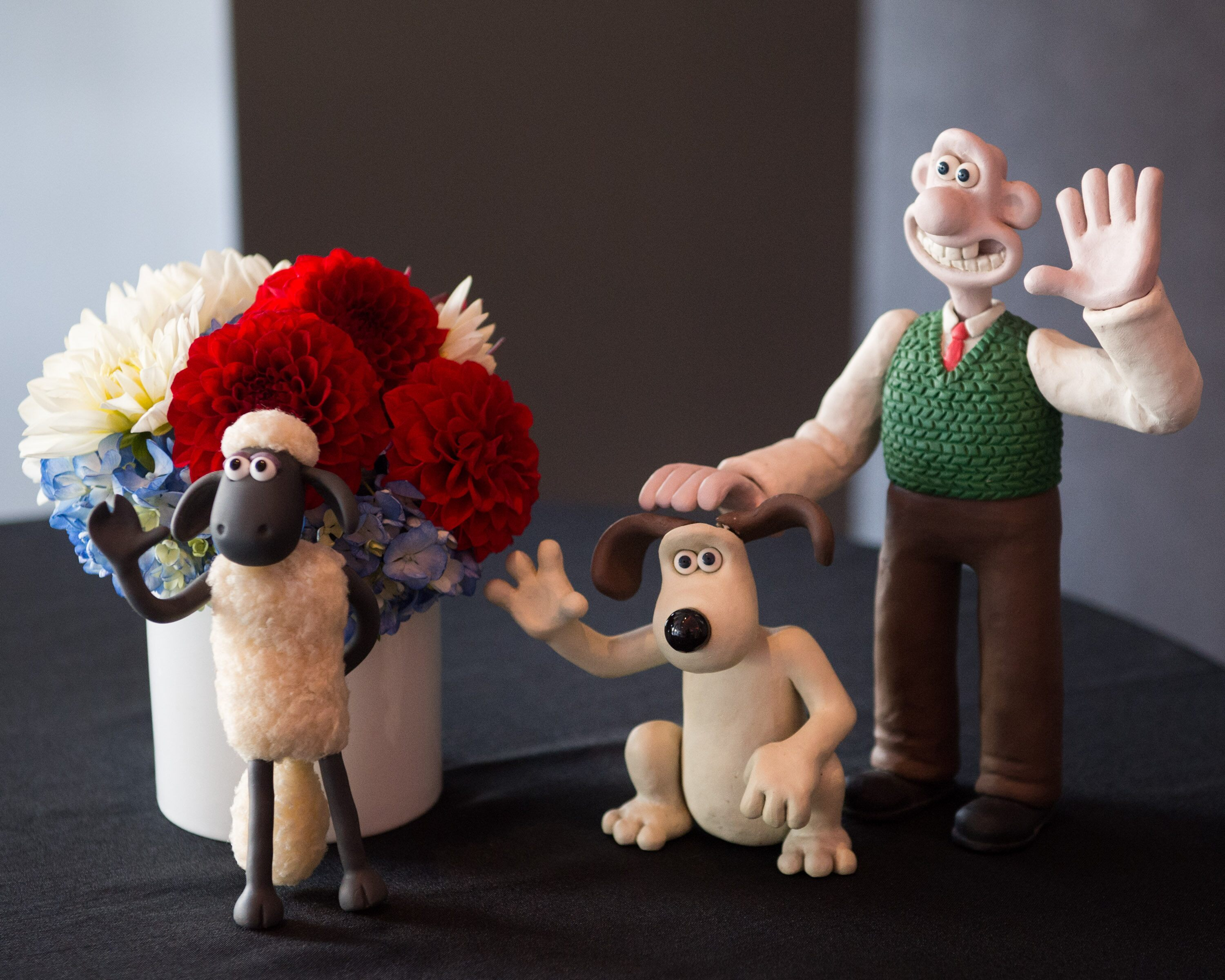 Aardman Animation brought some of their beloved characters to the event