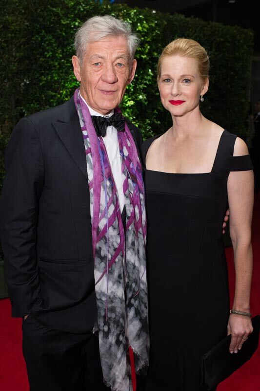 Ian McKellen and Laura Linney attend the Academy's 7th Annual Governors Awards
