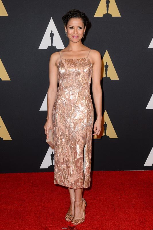 Gugu Mbatha-Raw attends the Academy's 7th Annual Governors Awards