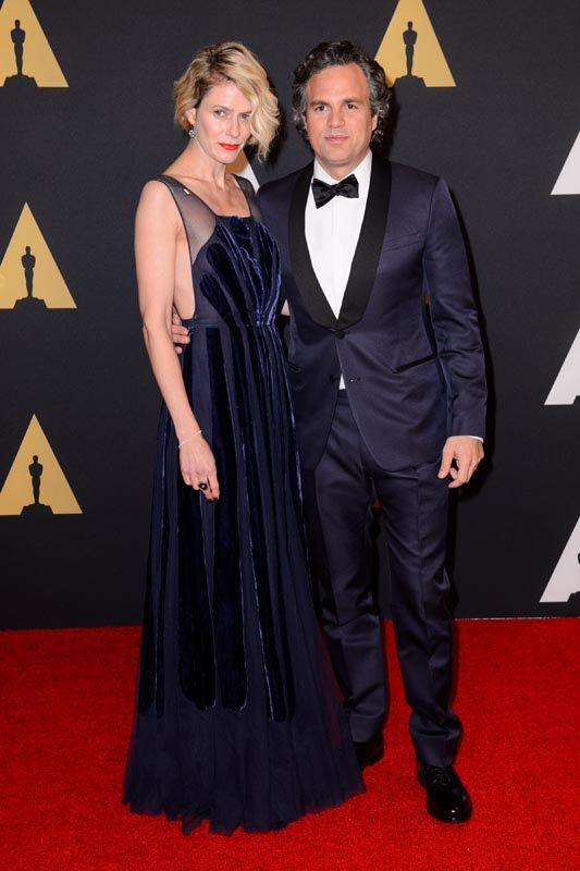 Sunrise Coigney and Mark Ruffalo attend the Academy's 7th Annual Governors Awards