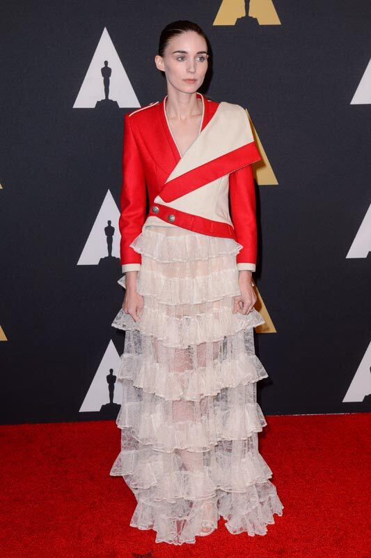 Rooney Mara attends the Academy's 7th Annual Governors Awards