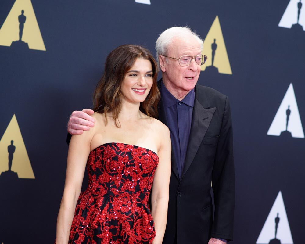Rachel Weisz and Michael Caine attend the Academy's 7th Annual Governors Awards