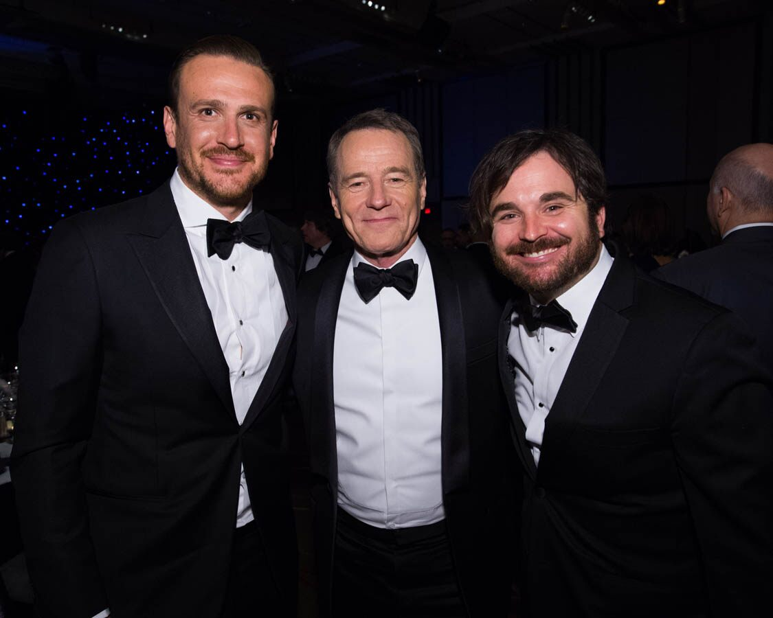 Jason Segel, Bryan Cranston and James Ponsoldt attend the Academy's 7th Annual Governors Awards