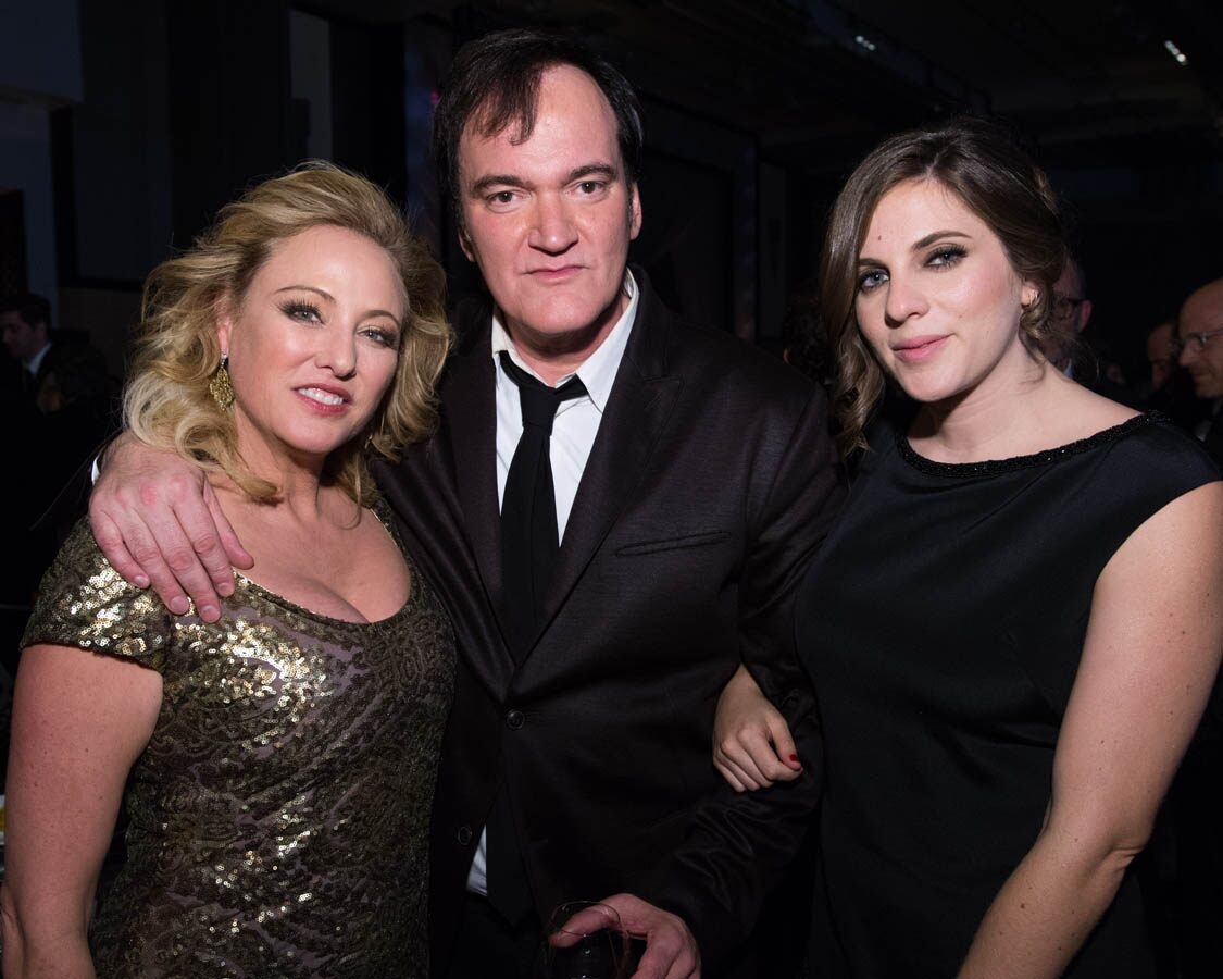 Virginia Madsen, Quentin Tarantino and Courtney Hoffman attend the 2015 Governors Awards