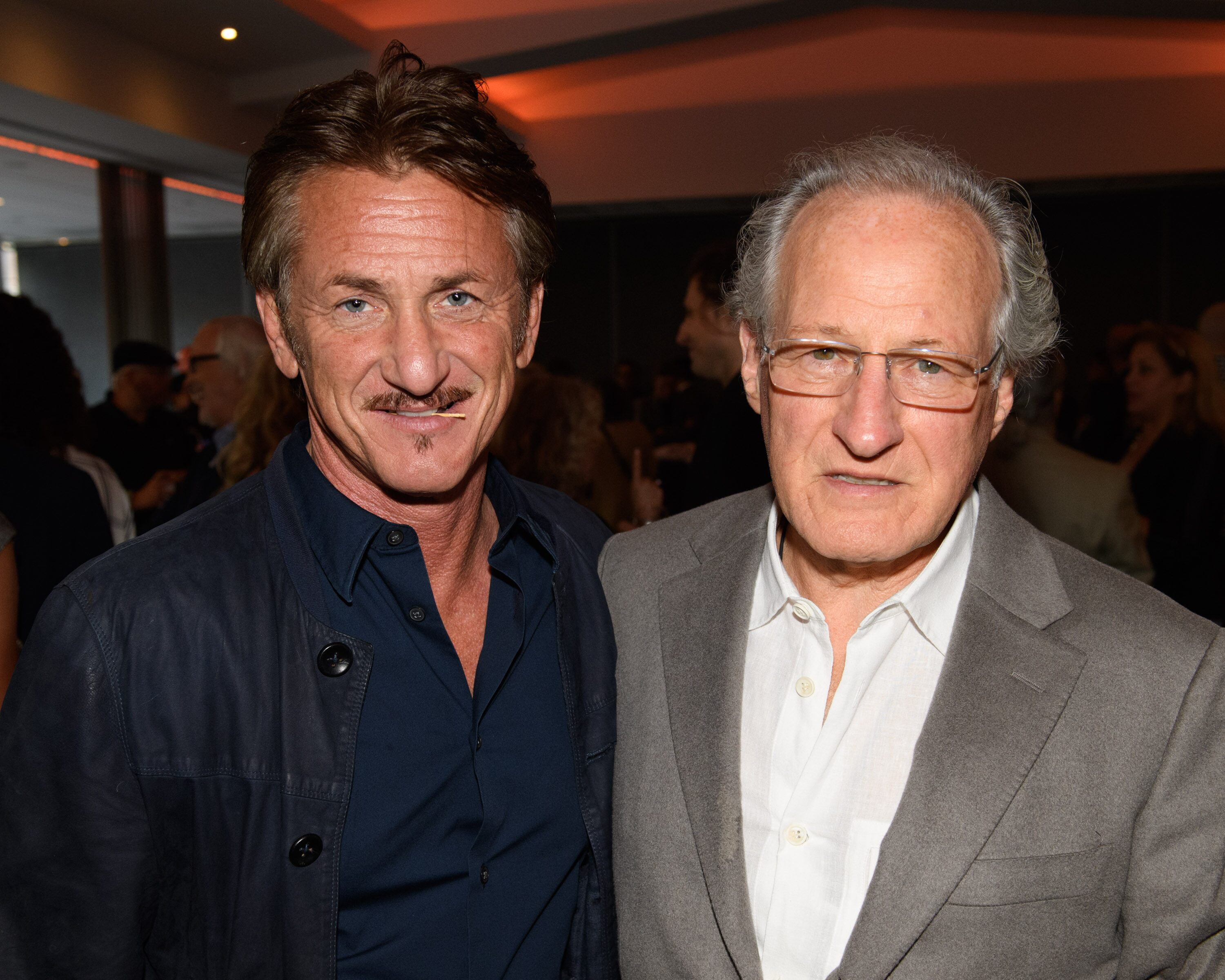 Actor Sean Penn and Director/Producer/Writer Michael Mann