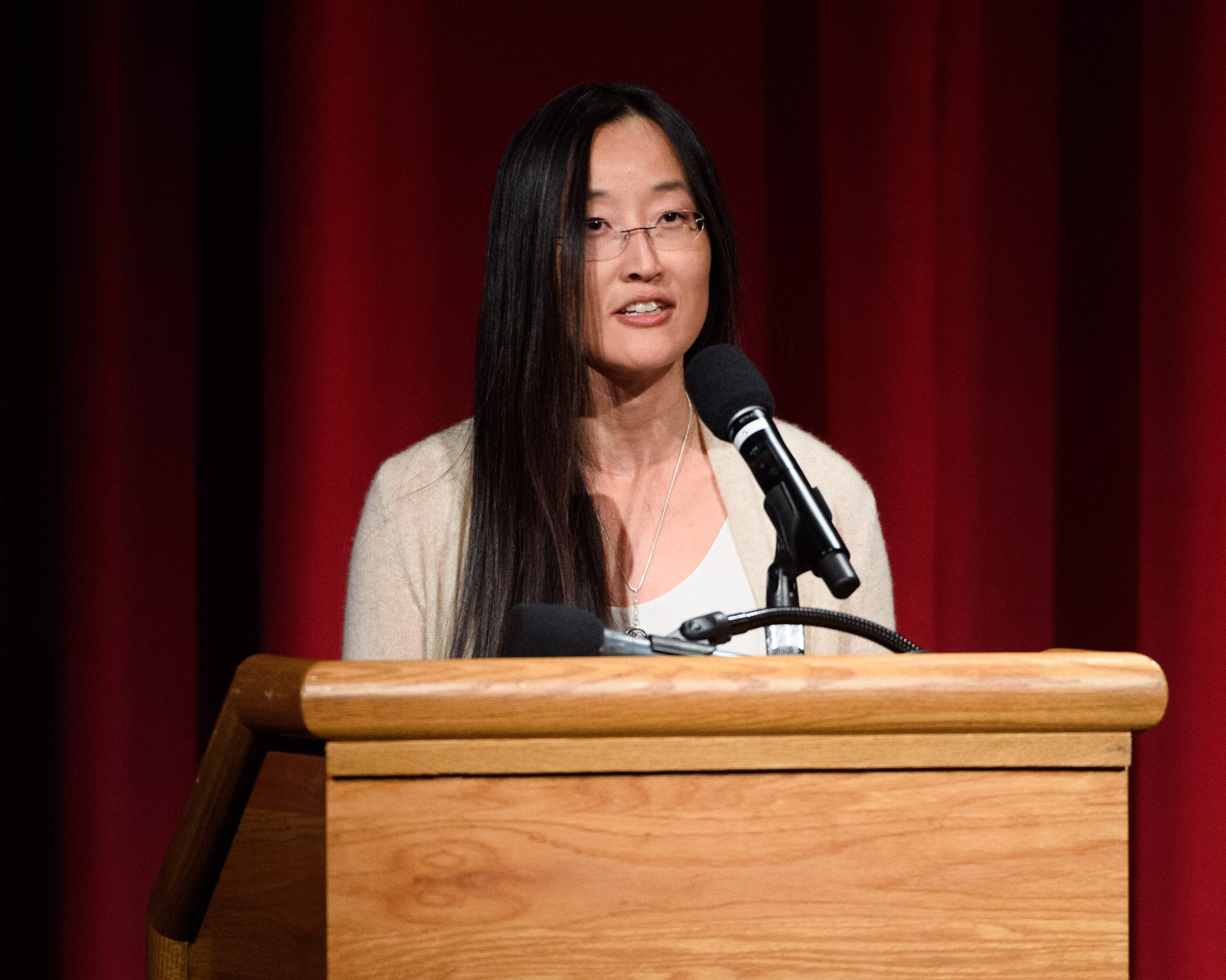 Director Jennifer Yuh Nelson