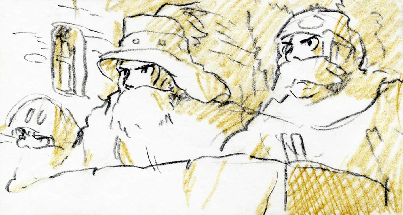 Howl's Moving Castle - Storyboard