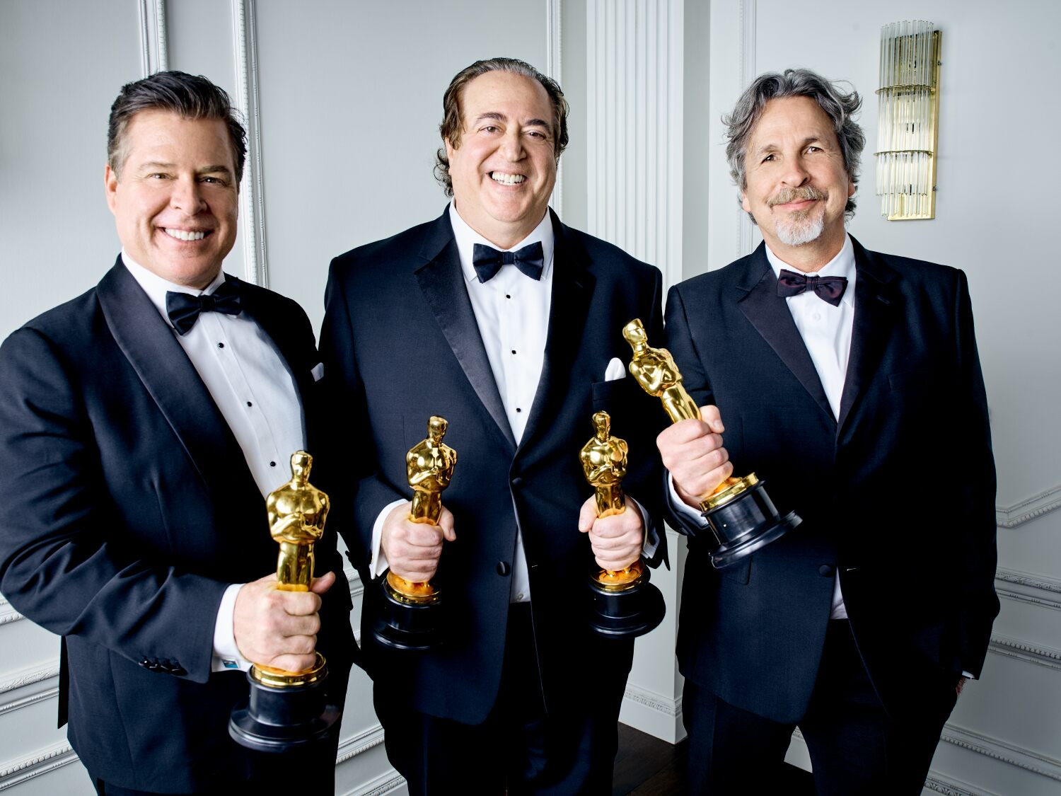 Nick Vallelonga, Brian Currie and Peter Farrelly