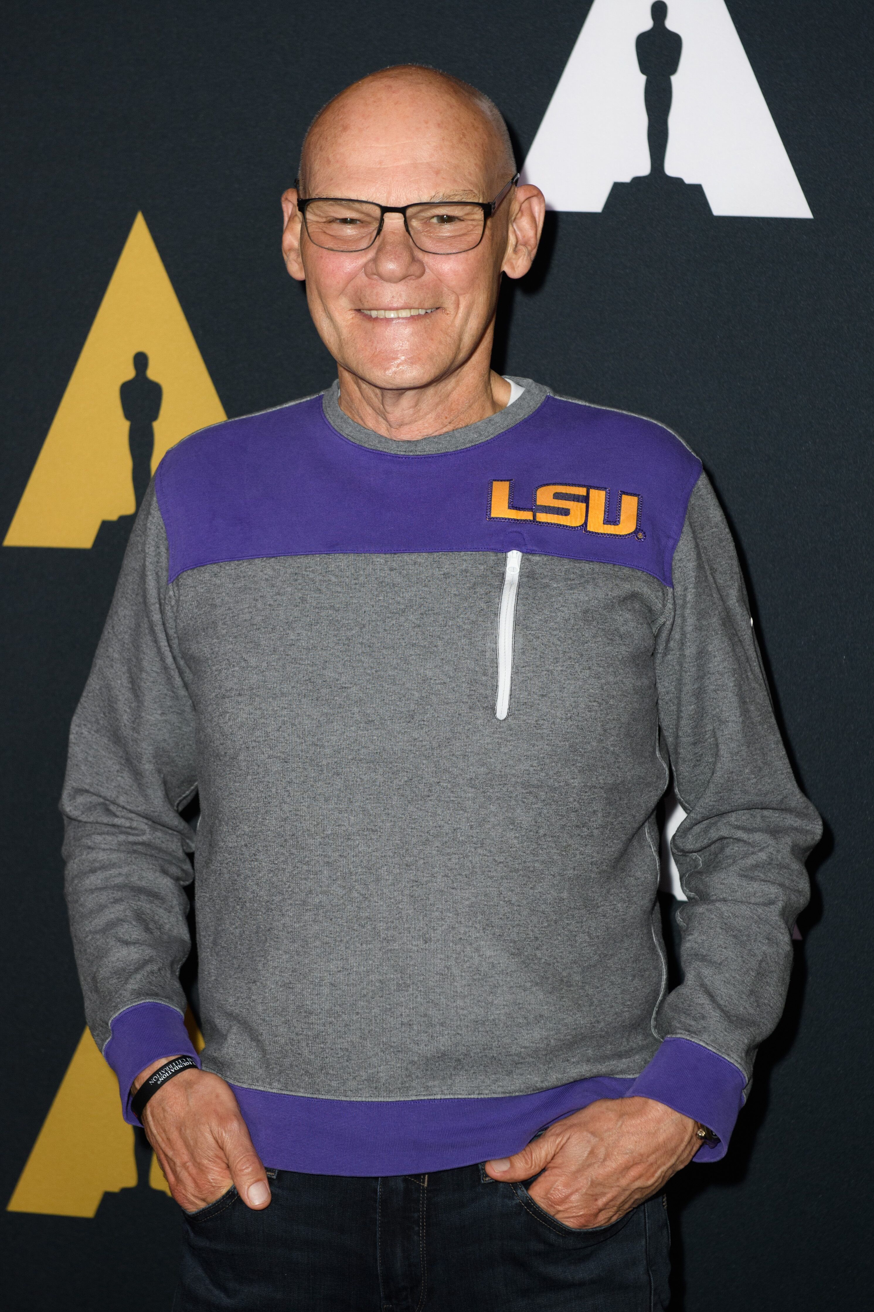 Political commentator and film subject James Carville