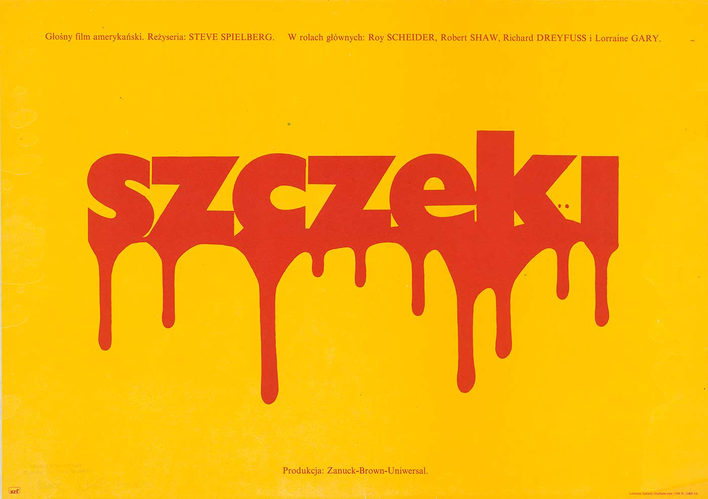 Polish Theatrical Poster