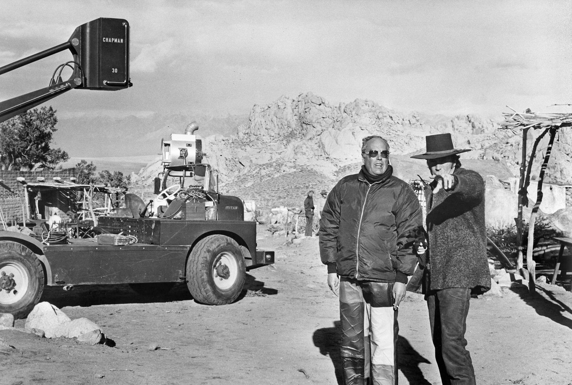 Clint Eastwood and director John Sturges