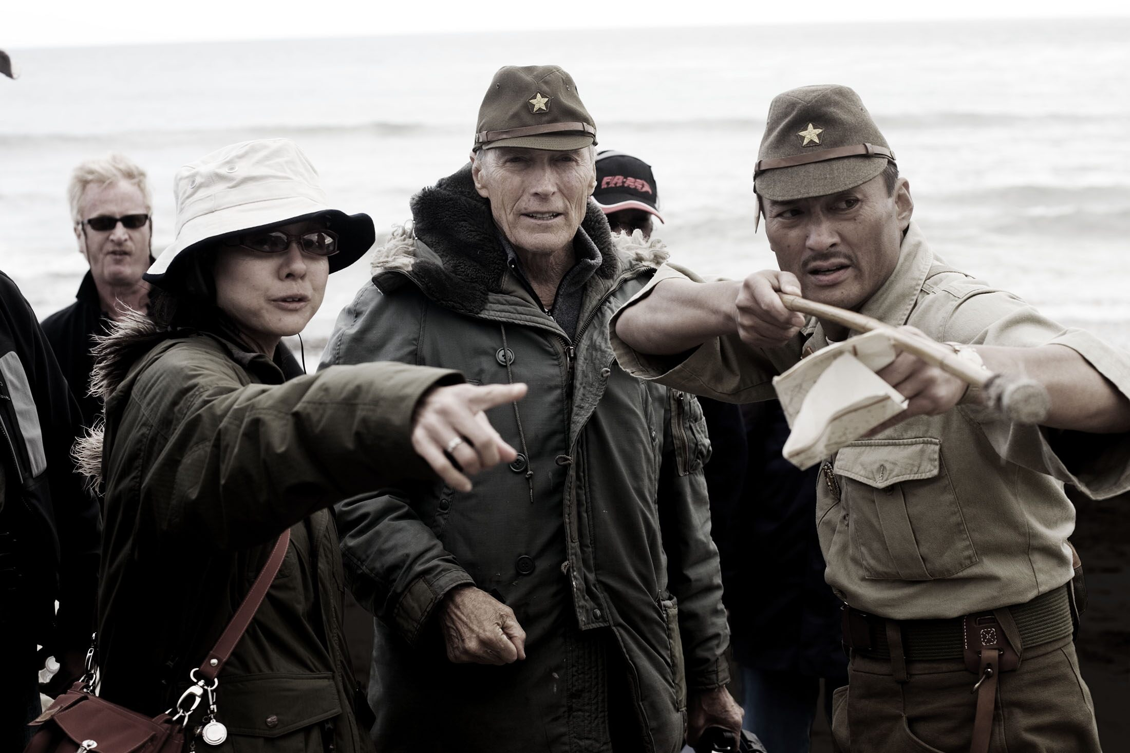 Clint Eastwood and Ken Watanabe