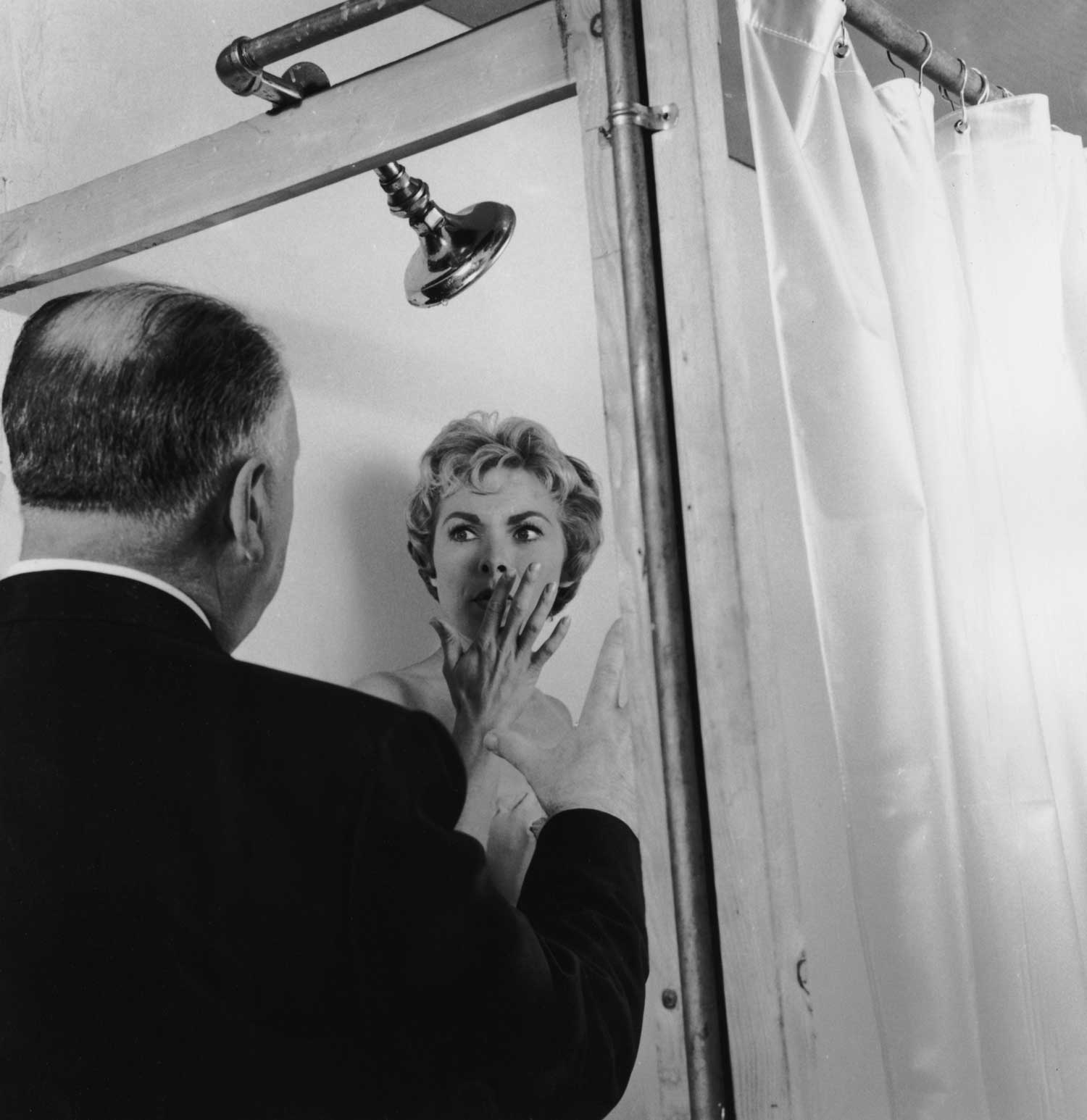 "It took seven days and a lot of hot water to shoot the famous shower scene in ""Psycho."""