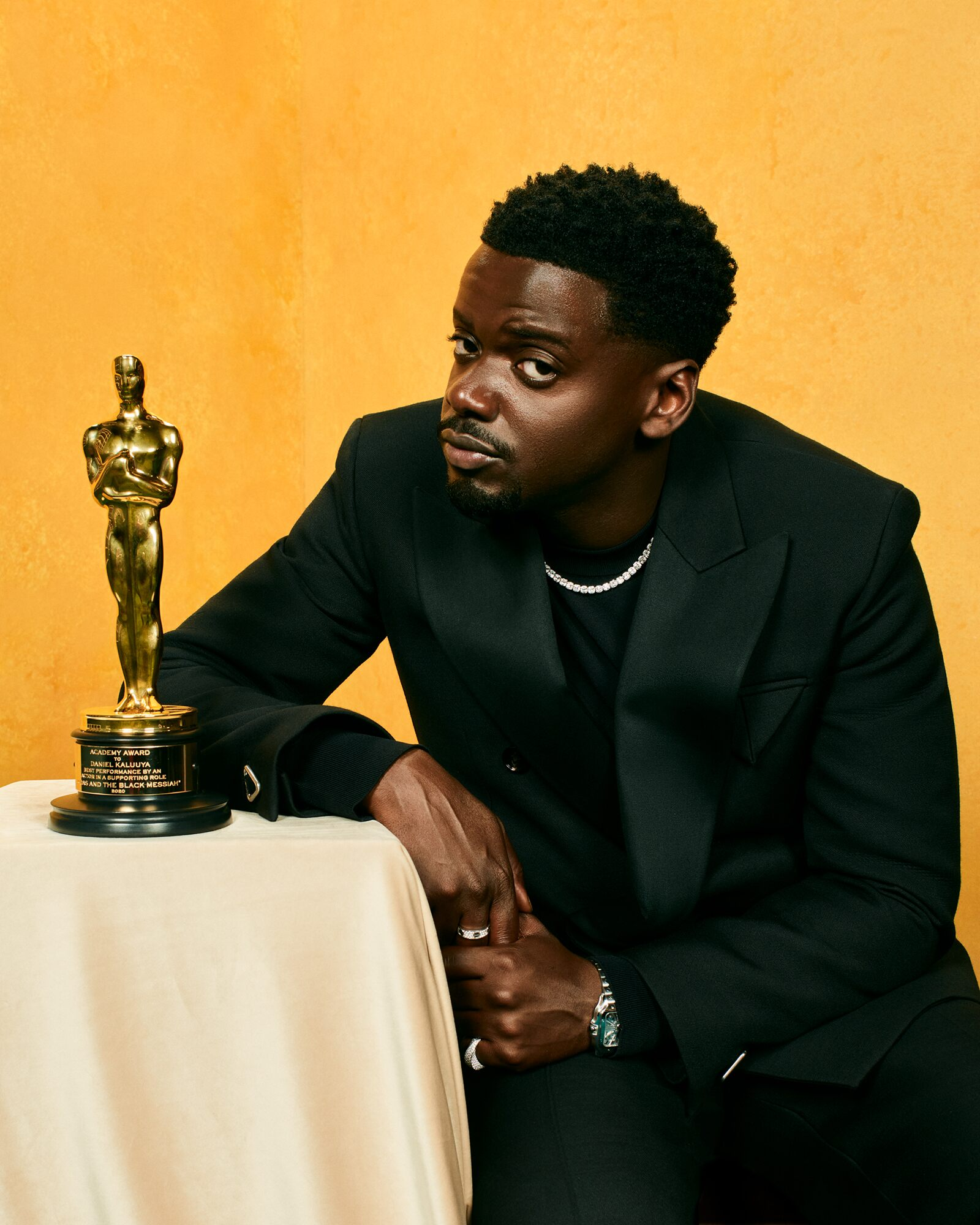 """Best Supporting Actor for """"Judas and the Black Messiah"""" / Portrait by Quil Lemons for Vanity Fair"""