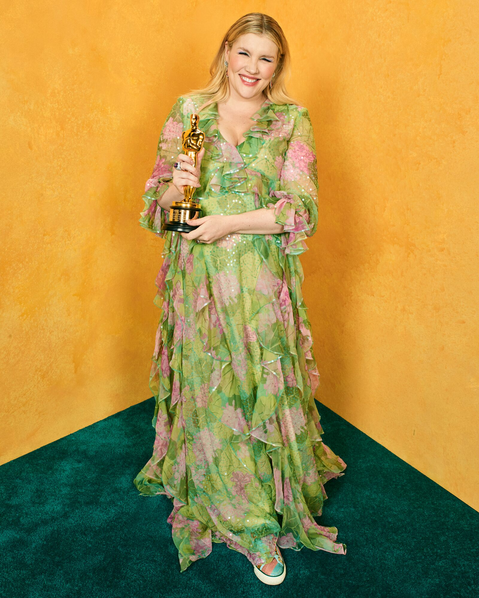 """Best Original Screenplay for """"Promising Young Woman"""" / Portrait by Quil Lemons for Vanity Fair"""