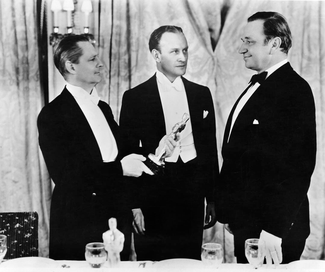 Wallace Beery, Lionel Barrymore, Conrad Nagel