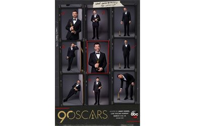 90th Oscars Key Art
