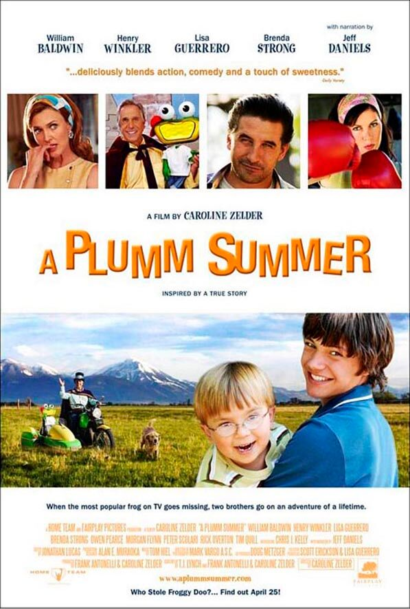 Movie Poster - A Plumm Summer
