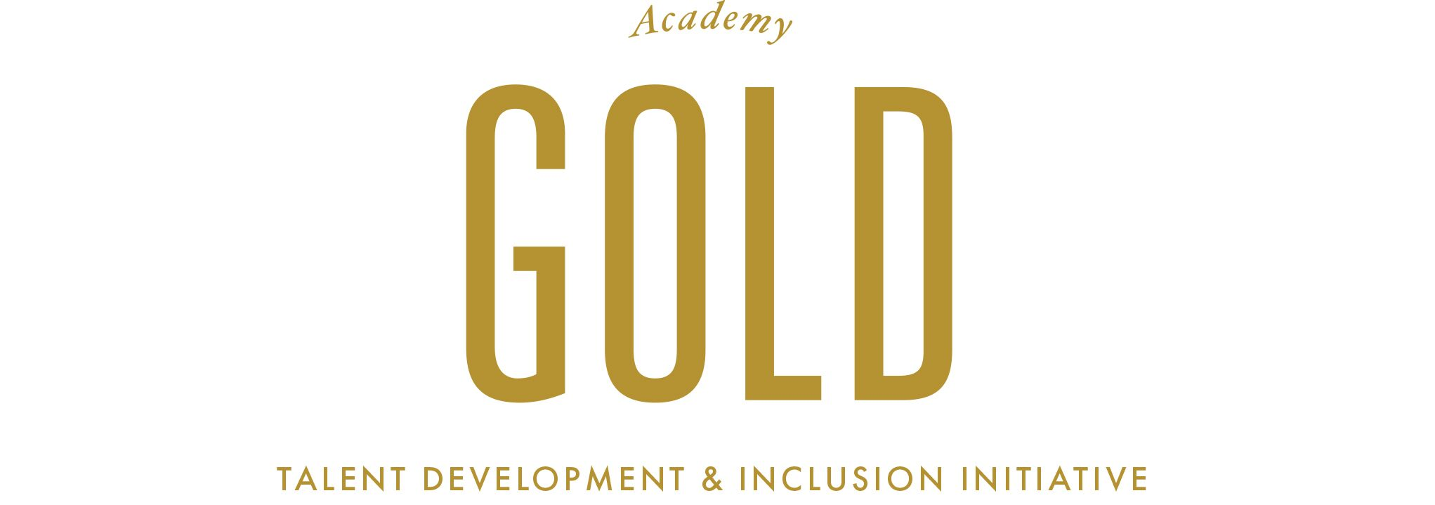 Academy Gold Talent Development and Inclusion Initiative