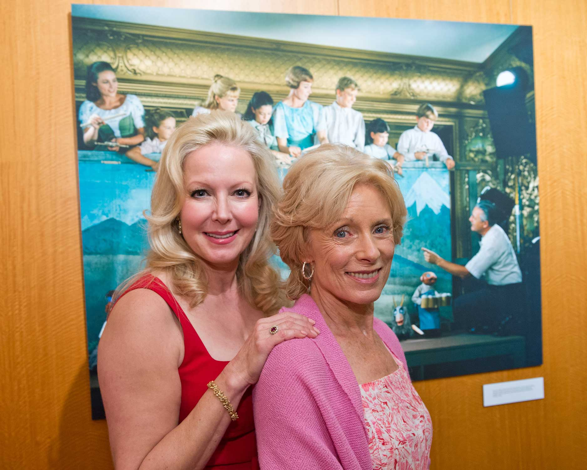 Actresses Kym Karath and Charmian Carr