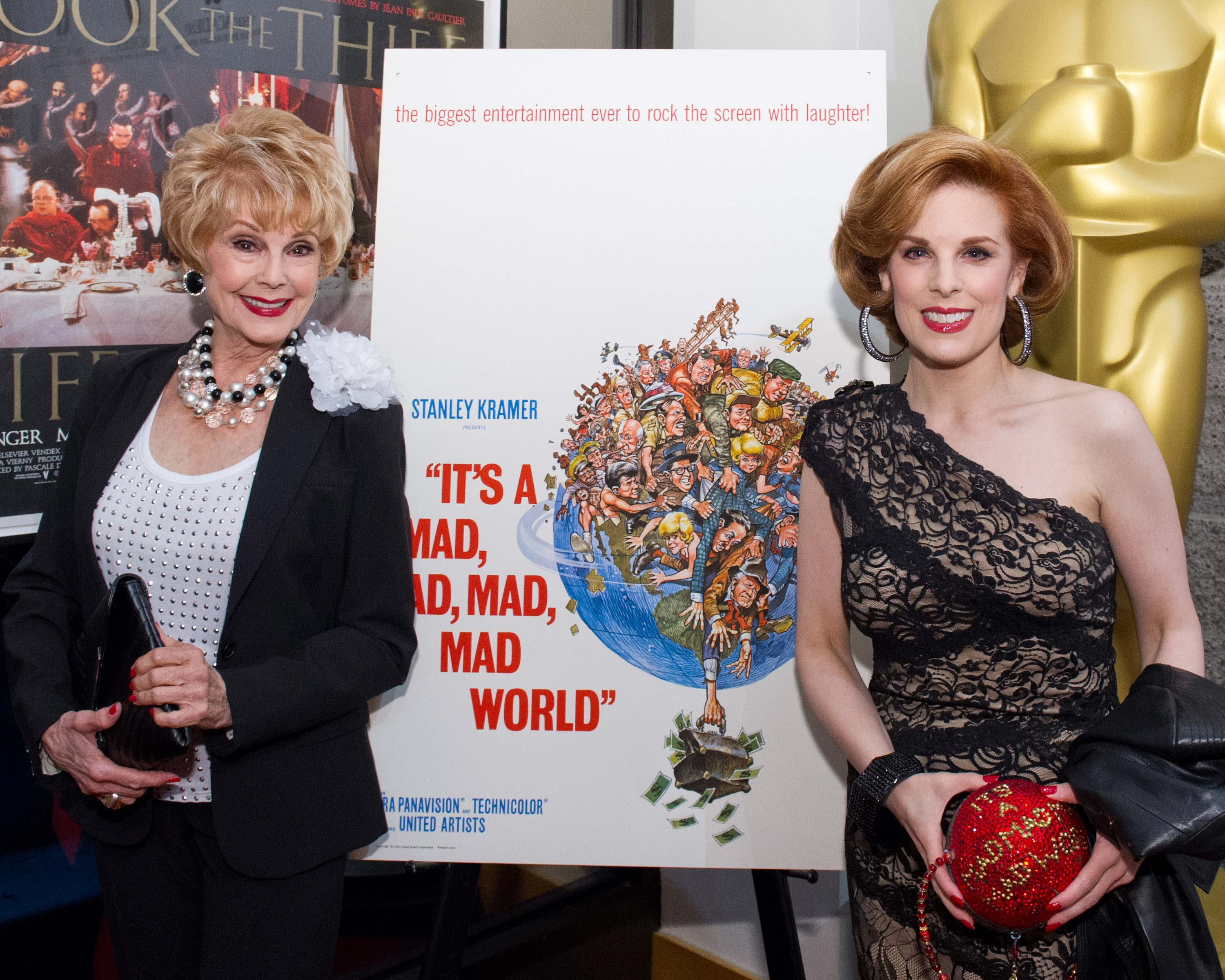 "Comedy Legends Reunite at Academy Screening of ""It's a Mad, Mad, Mad, Mad World"""