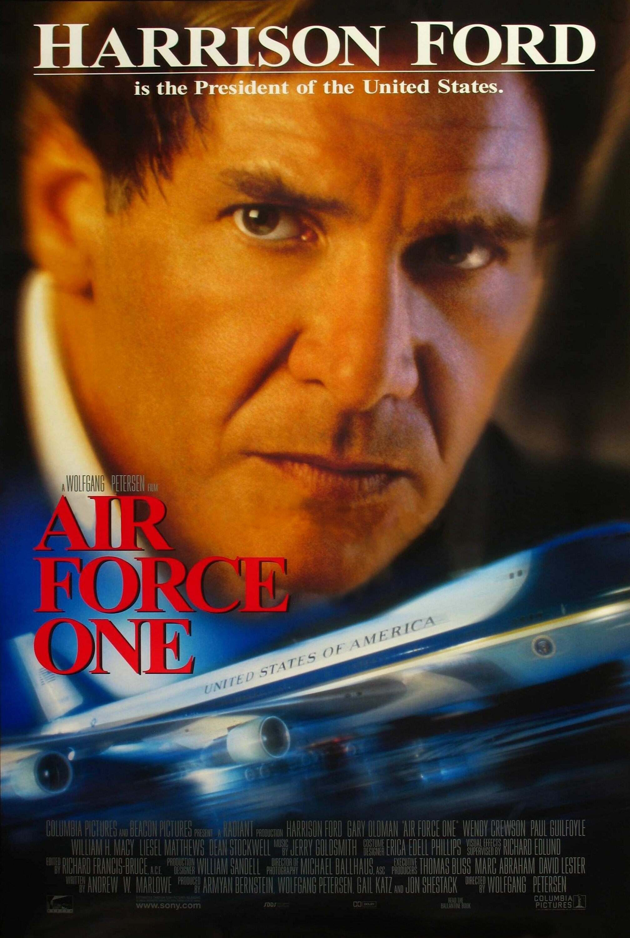 Movie Poster - Air Force One