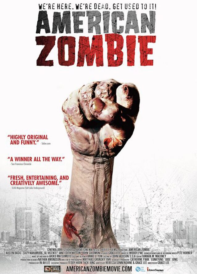 Movie Poster - American Zombie